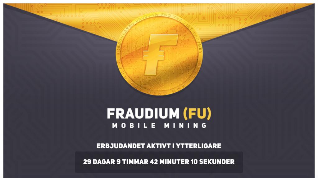 Fraudium Webbhallen.