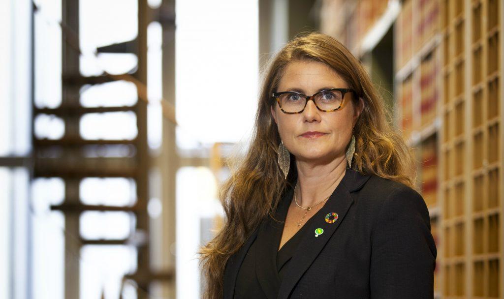 Janine Alm Ericson, economic-political spokesperson for the Swedish Green Party.