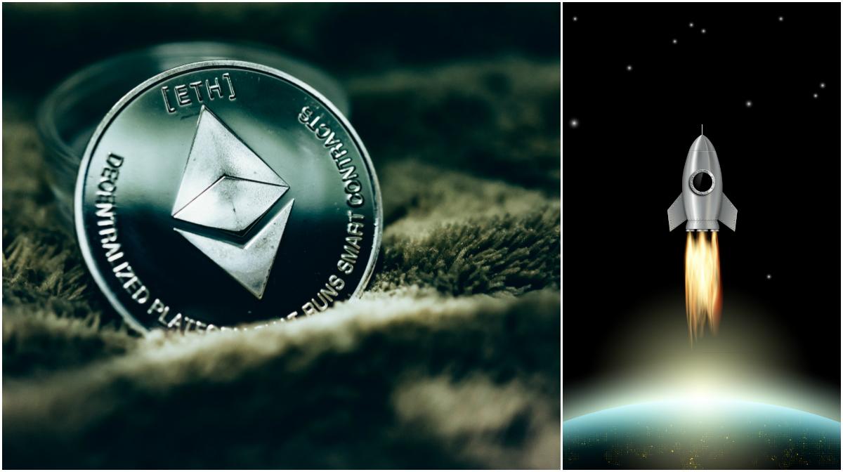 Kryptodygnet: Ethereum classic rusar efter nyheter om att den listas på börser.