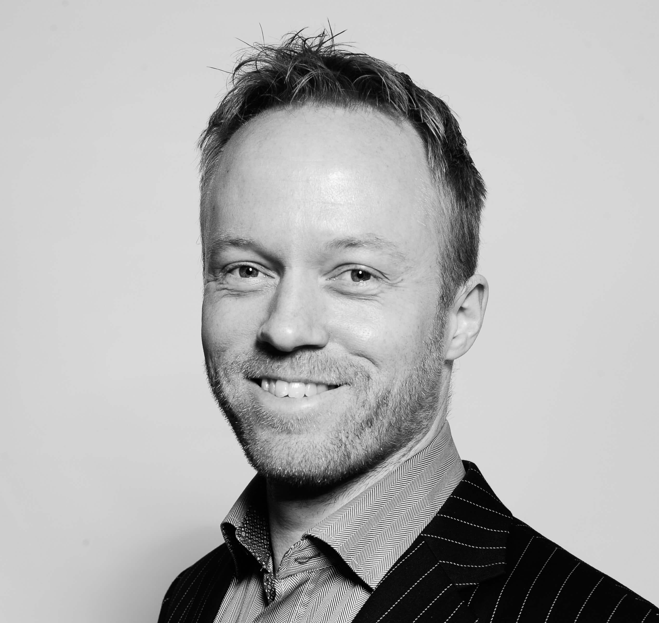 Stefan Arenbalk, strategichef och medgrundare till Joorschain.