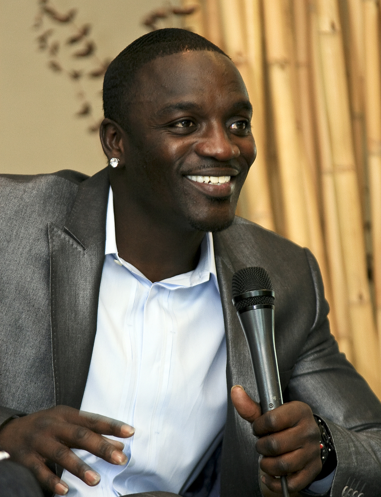 Artisten Akon.