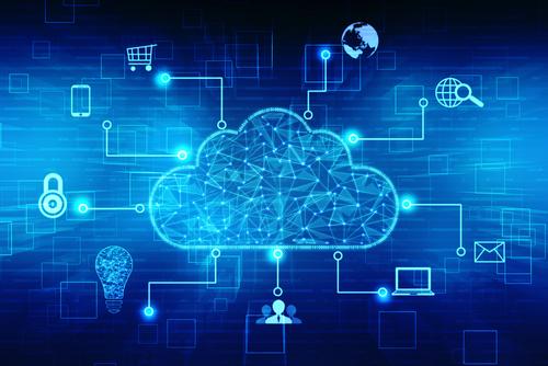 Image of cloud computing.