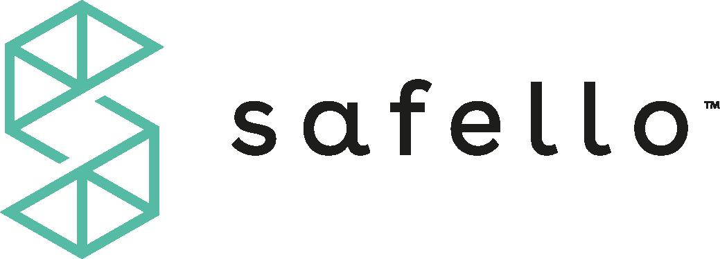 Safello logo.