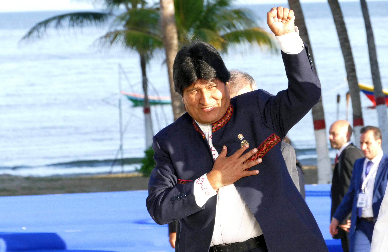 Bolivias president Evo Morales. Bildkälla: Shutterstock.