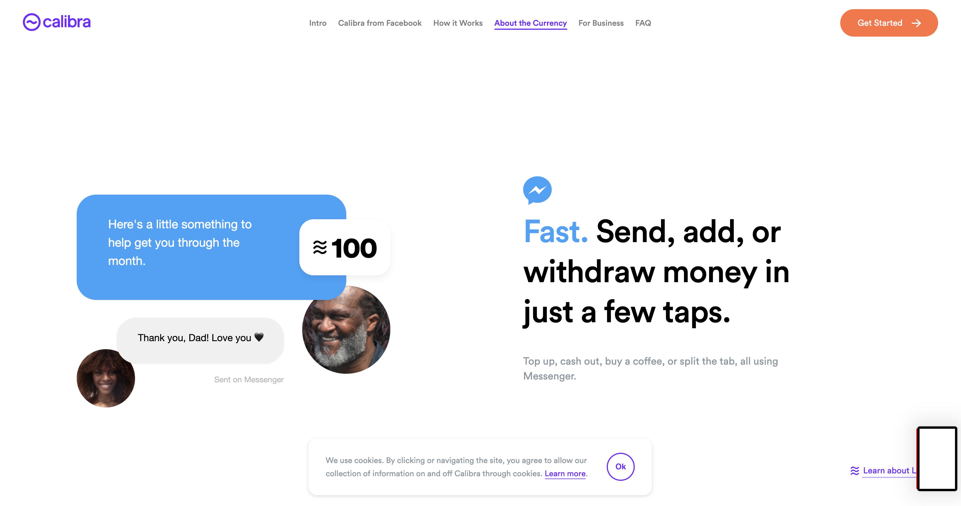 Facebooks kryptovaluta i Messenger.