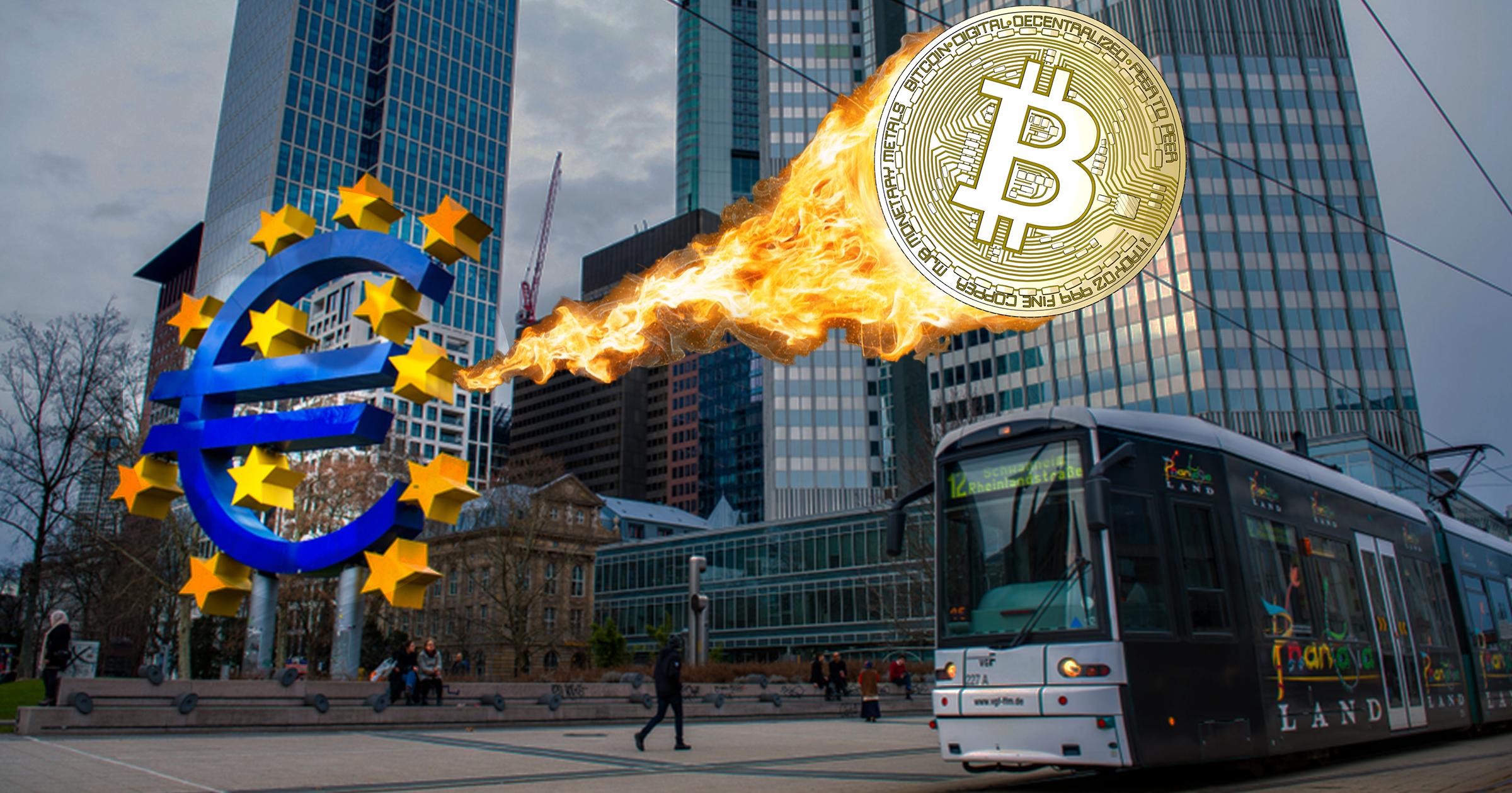 """Europeiska centralbanken till attack mot bitcoin – """"är inte en valuta"""""""