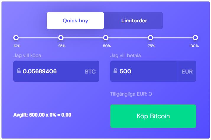 Guide: Så köper du bitcoin på Trijo.co