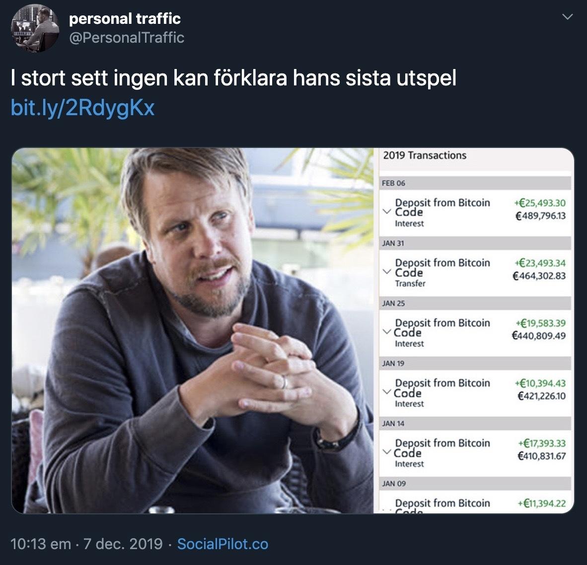 Bedrägeri som sprids i sociala medier