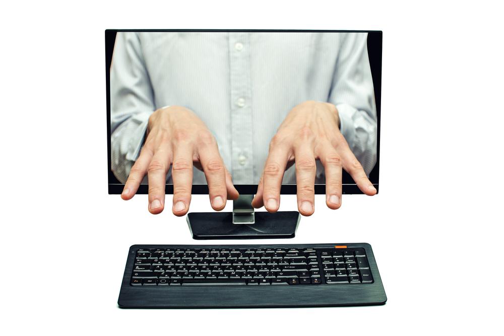 Fjärrstyr dator