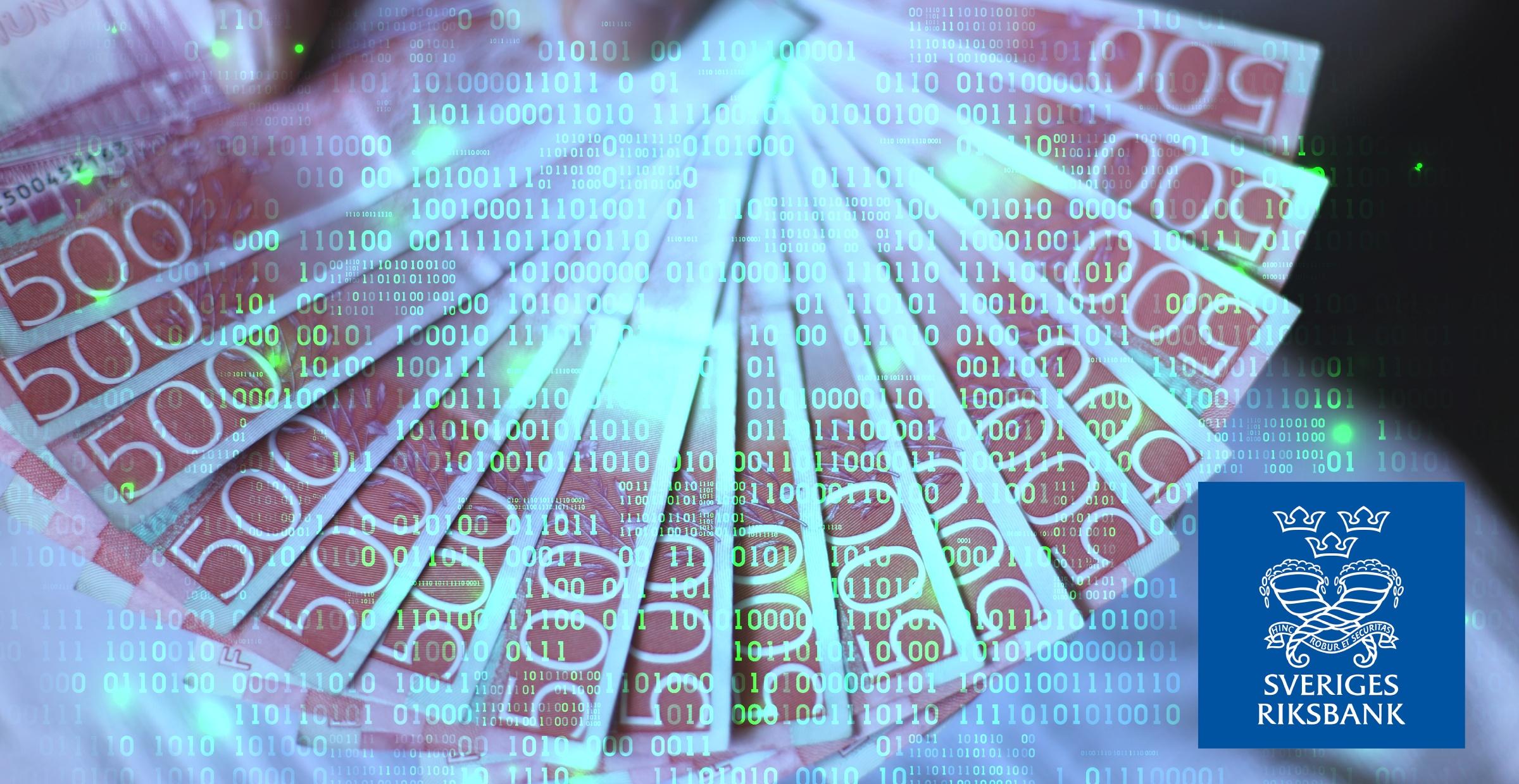 Riksbanken utvecklar en e-krona – ska baseras på blockkedja