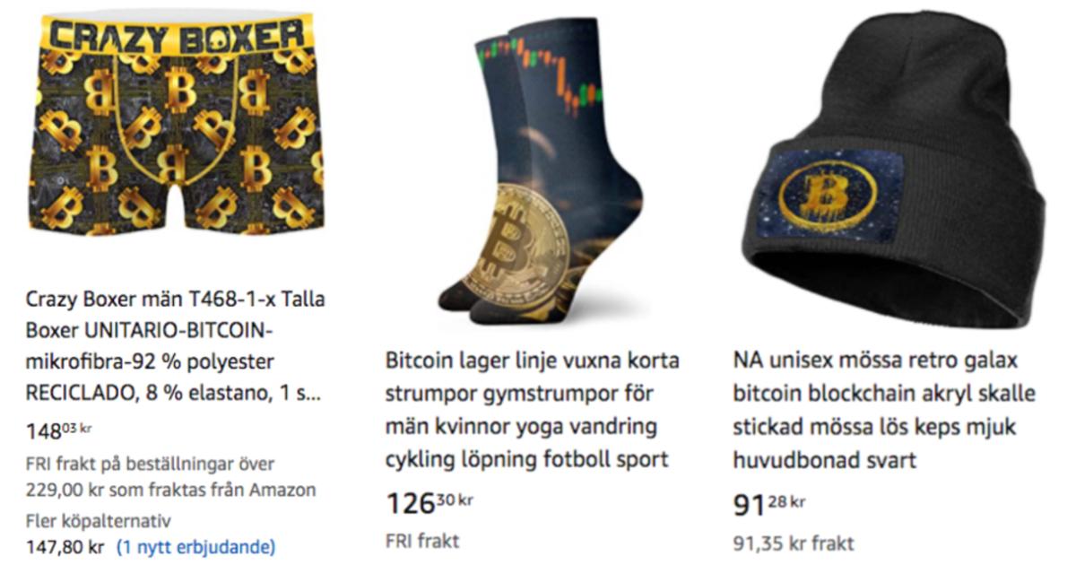 Amazon bitcoinprodukter 1.