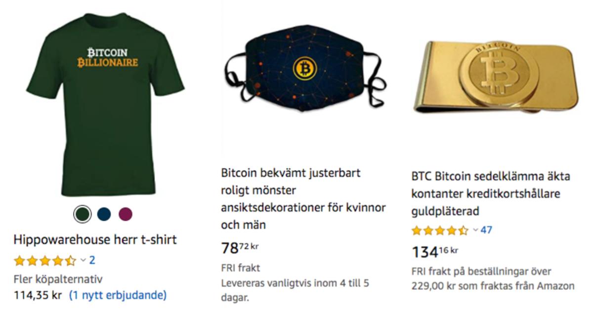 Amazon bitcoinprodukter 2.