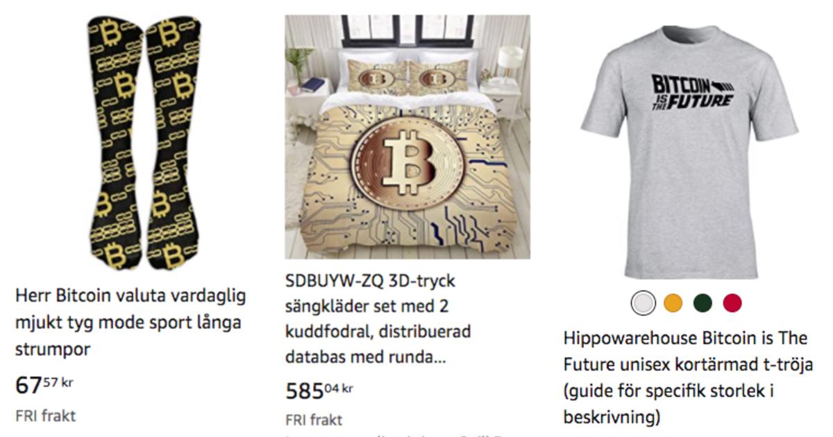 Amazon bitcoinprodukter 3.