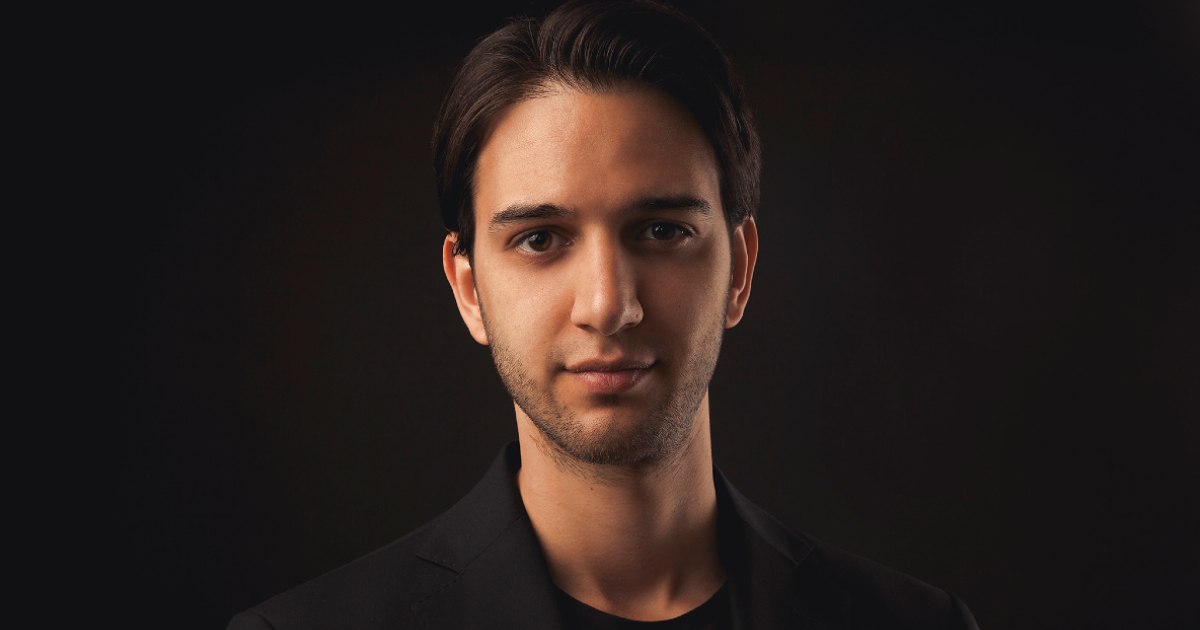 Eric Wall, kryptoprofil och chefsinvesterare i Arcane Cryptos kryptofond.