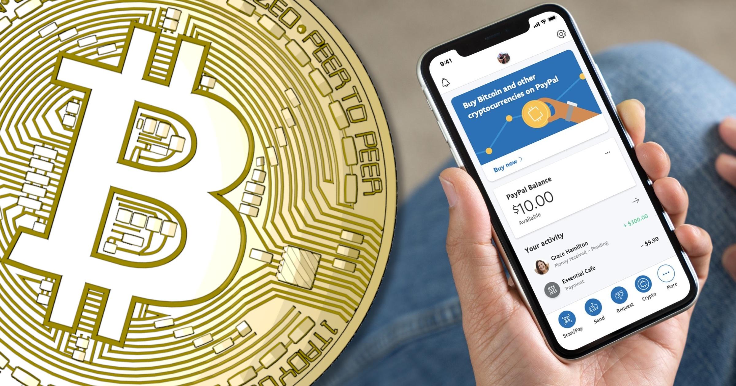 Nu har Paypal lanserat handel med kryptovalutor för sina amerikanska kunder