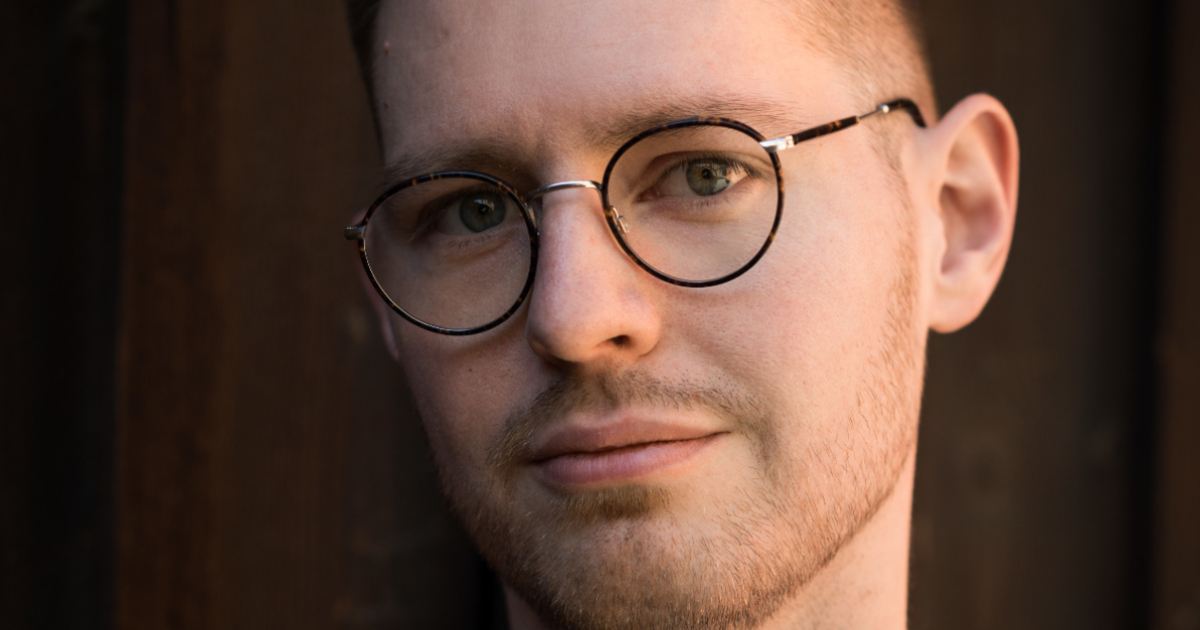Totte Löfström, vd för den svenska kryptobörsen Trijo.