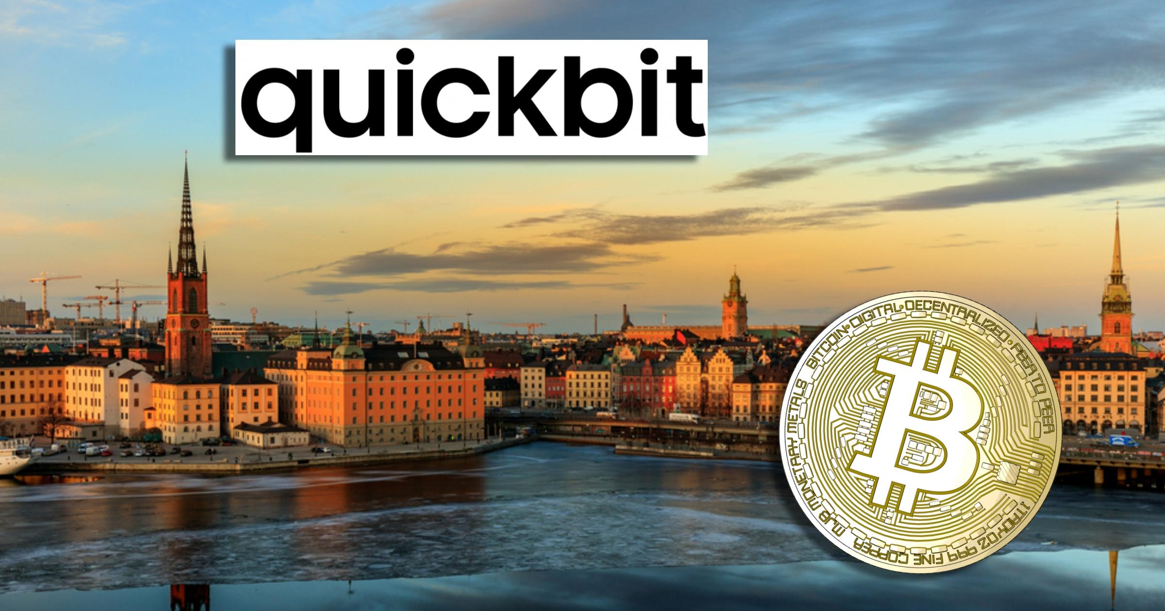 Quickbit börjar betatesta app för växling av kryptovalutor